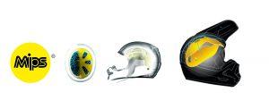 Cascos con tecnología MIPS y logotipo MIPS
