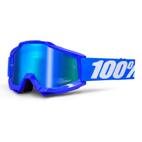 Máscara 100% Accuri Reflex Blue (Lente Transparente)