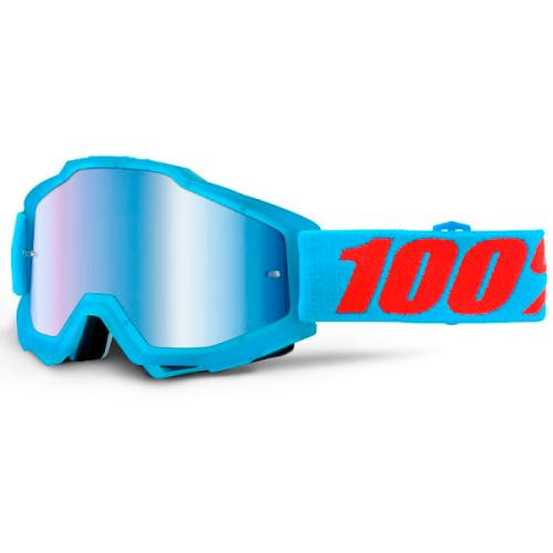 Máscara 100% Accuri Acidulous Cyan (Lente Espejo Azul)