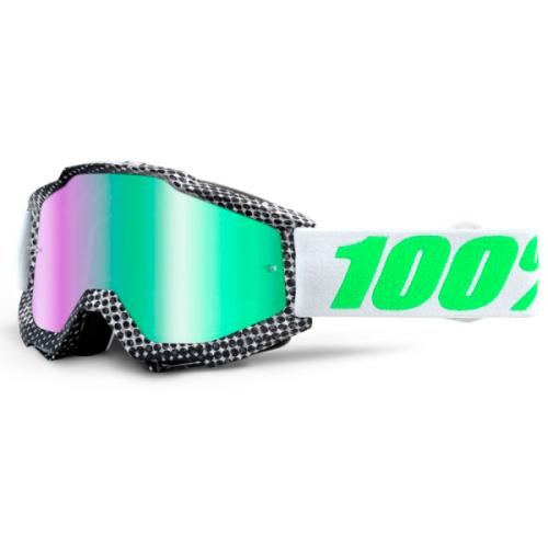 Máscara 100% Accuri Newsworthy (Espejo Verde)