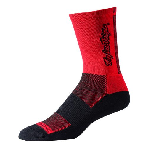 Calcetines Troy Lee Ace Rojo/Negro