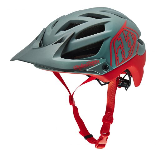 Casco TROY LEE A1 DRONE Rojo/Gris