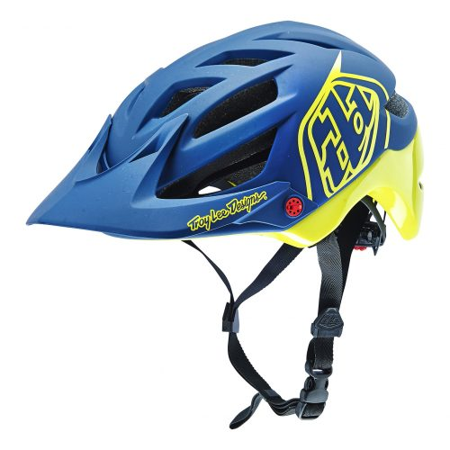 Casco TROY LEE A1 DRONE Azul/Yellow