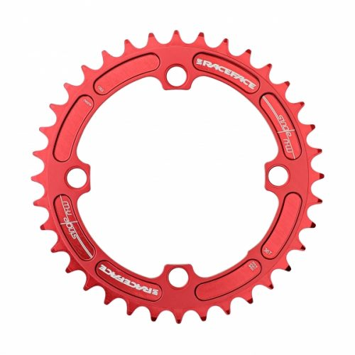 Plato RACE FACE NARROW WIDE 104 mm Rojo