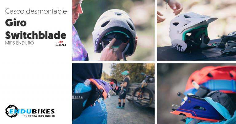 Nuevo Giro SWITCHBLADE™ MIPS. El casco de Richie Rude