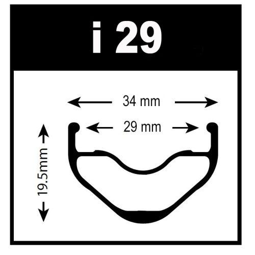 Aro 27,5 WTB KOM i29