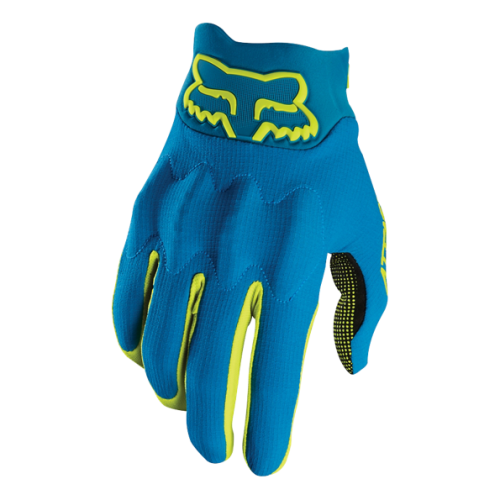 Guantes FOX ATTACK D30 Azul 2017