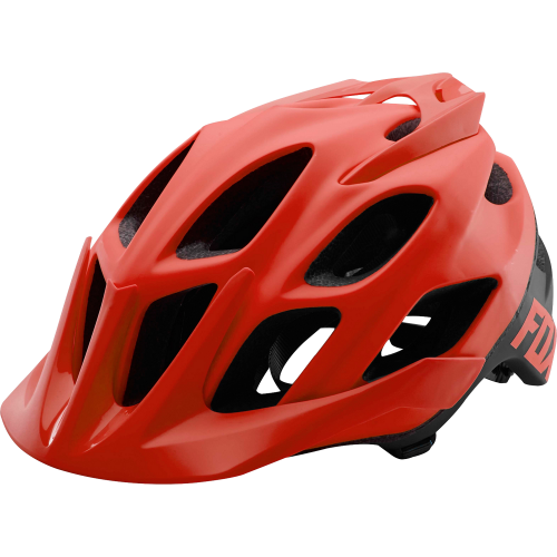 Casco Fox Flux Creo Rojo 2017