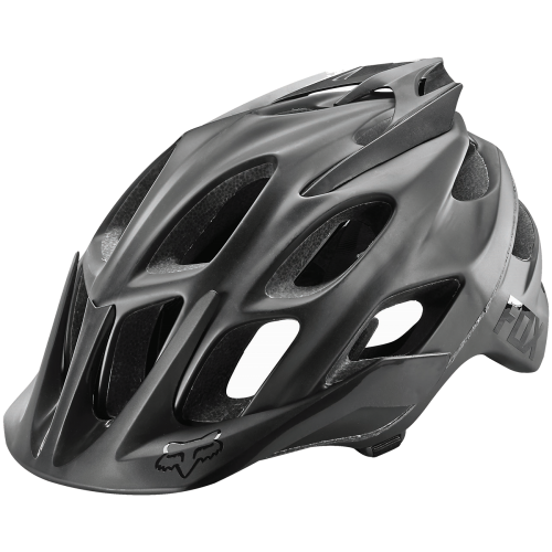 Casco Fox Flux Creo Negro Mate 2017