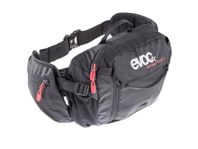 Riñonera/mochila de hidratación Evoc Hip Pack Race - Belt - capacidad 3L - 1.5 litros agua MTB / BTT