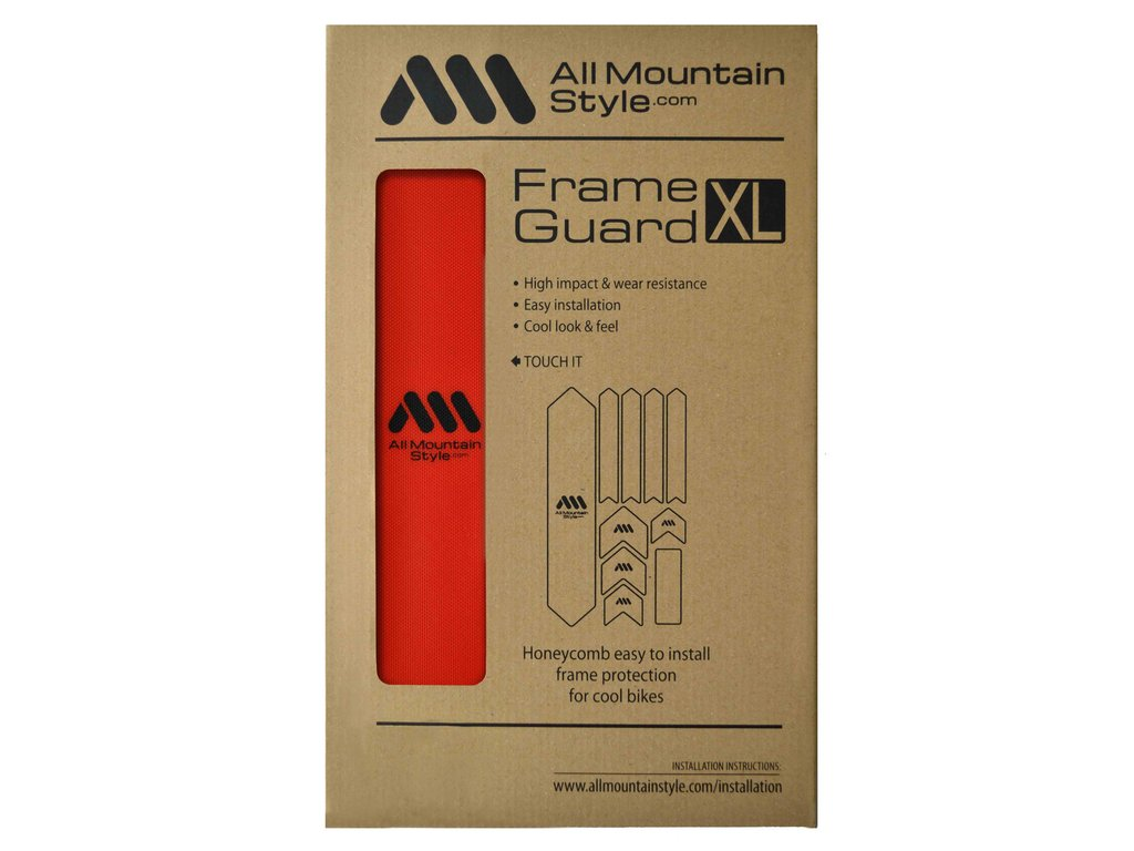 All Mountain Style / AMS bicycle and fork frame protector