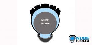 Protección NUBE Tubeless 40 mm 29