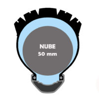 Proteccion NUBE Tubeless 50 mm 29