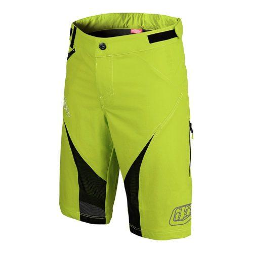 Pantalon Corto Troy Lee TERRAIN Amarillo Neon 2017