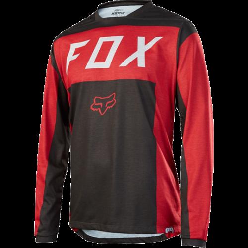 Maillot FOX INDICATOR LS MOTH Rojo