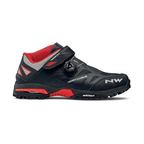 Zapatillas Northwave Enduro Mid Negro/Rojo