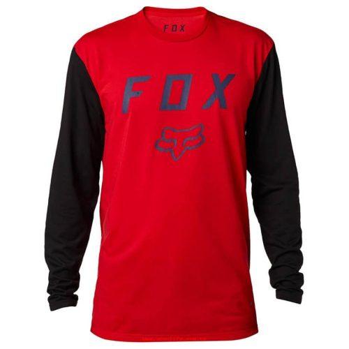 Camiseta FOX Contended Tech Rojo