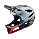 Casco Troy Lee Stage MIPS Race Plata