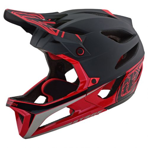 Casco Troy Lee Stage MIPS Race BlackRed