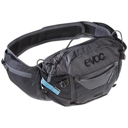 Riñonera EVOC Hip Pack PRO 3.l Negro/Gris