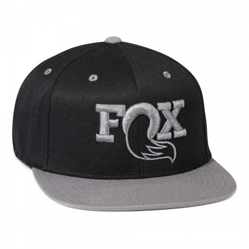 Gorra FOX RACING NEGRO GRIS