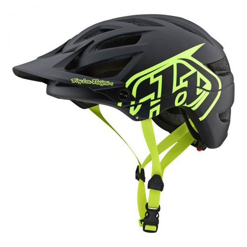 Casco TROY LEE A1 DRONE 2019 Negro/Amarillo Neon