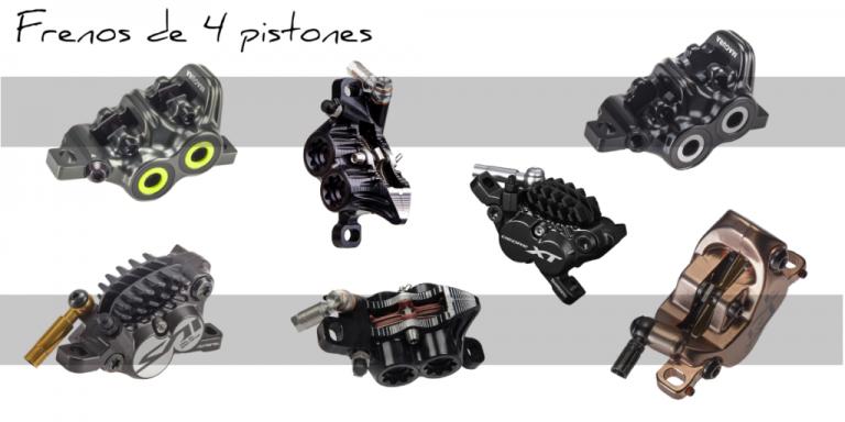 Frenos de 4 pistones