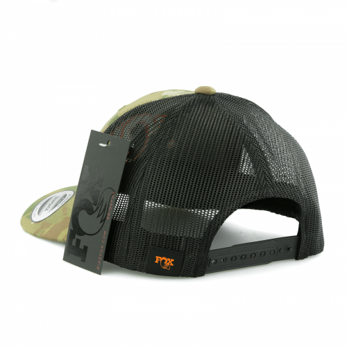 Gorra FOX RACING Multicam Trucker Snapback Camo/Negro