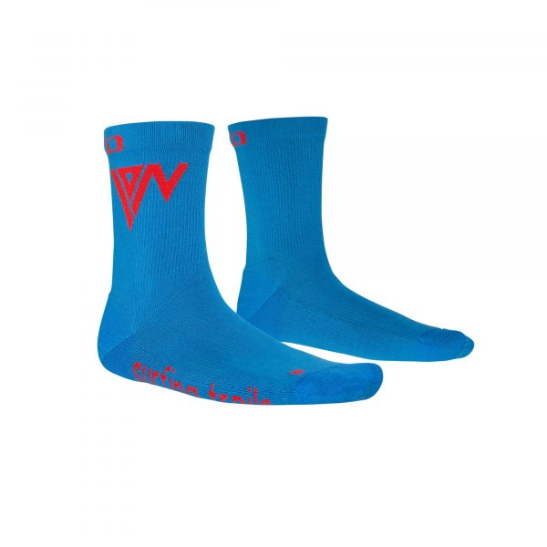 Calcetines ION Mid Pole - Stream Blue