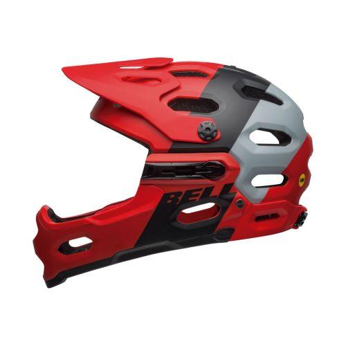 Casco Bell Super 3R MIPS 2020 Rojo/Negro/Gris