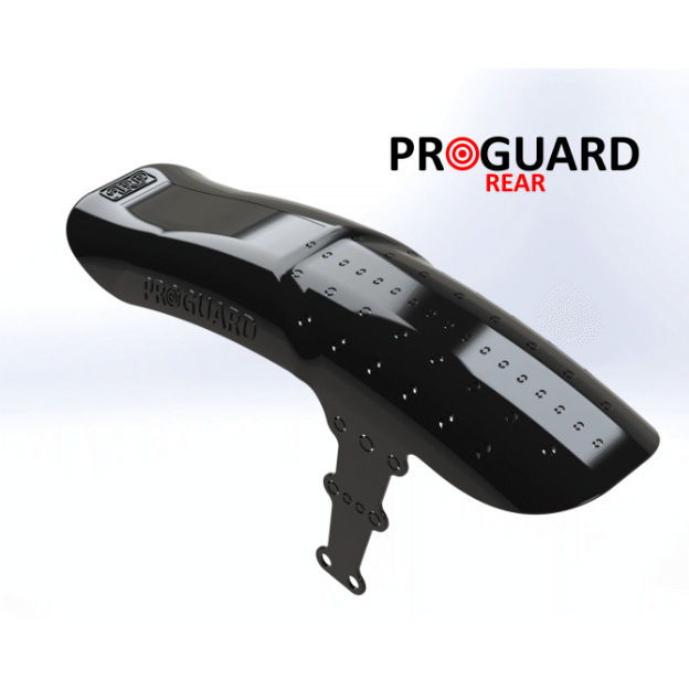 Guardabarros Trasero Rapid Race Products Pro Guard