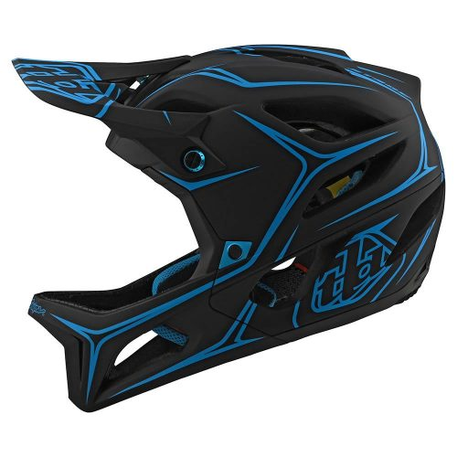 Casco Troy Lee Stage MIPS Negro Cyan 2020