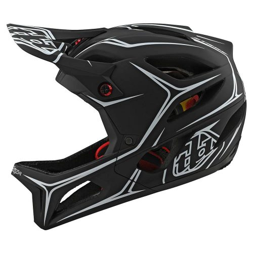 Casco Troy Lee Stage MIPS Blanco Negro 2020