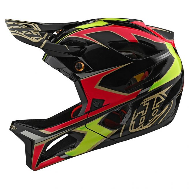 Casco Troy Lee Stage MIPS Ropo Pink Amarillo 2020