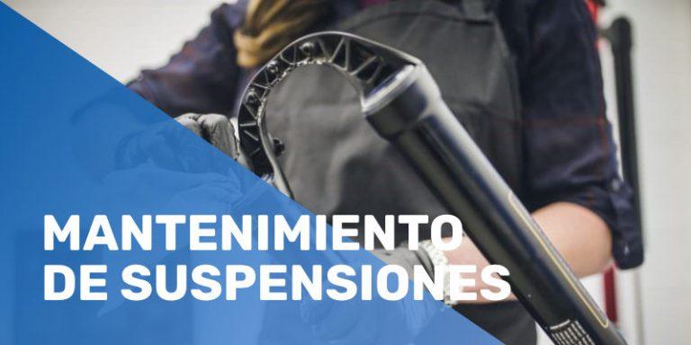 Mantenimiento de suspensiones MTB