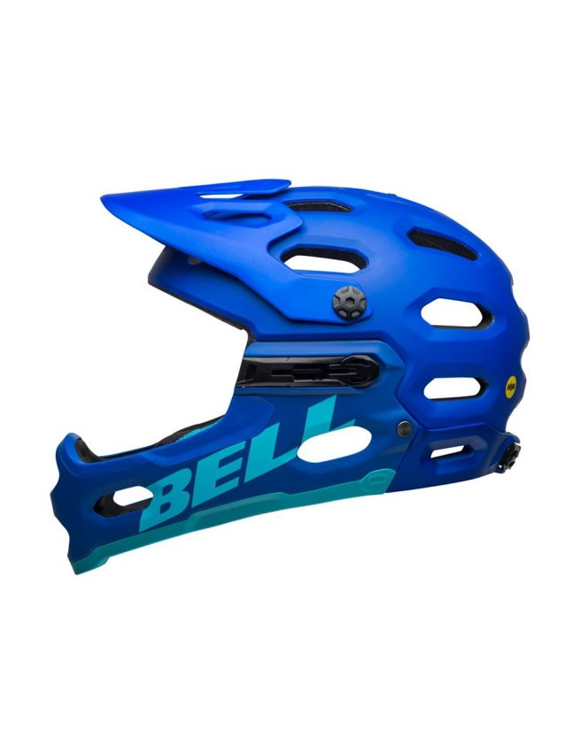 Casco Bell Super 3R MIPS Azul Mate 2021