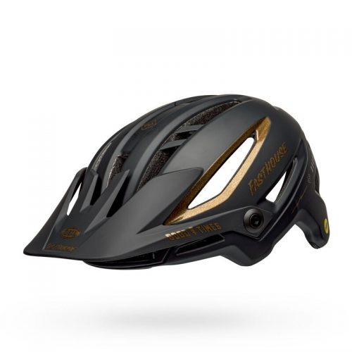 Casco BELL SIXER Mips 2021 Negro Gold Fasthouse
