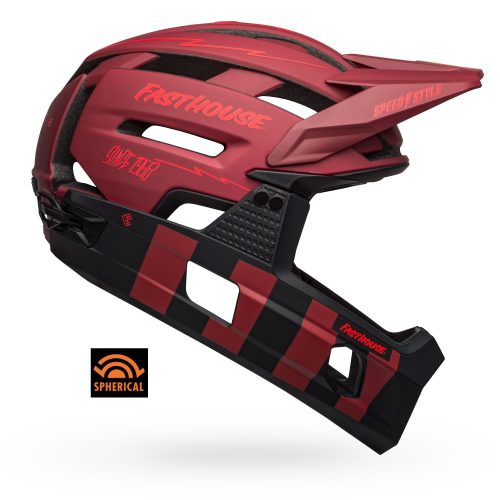 Casco Bell Super Air R MIPS Spherical 2021 Rojo/Negro