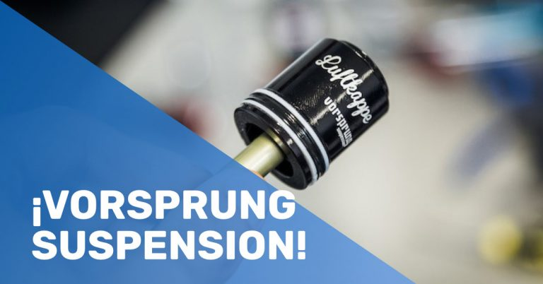 ¡Vorsprung Suspension!