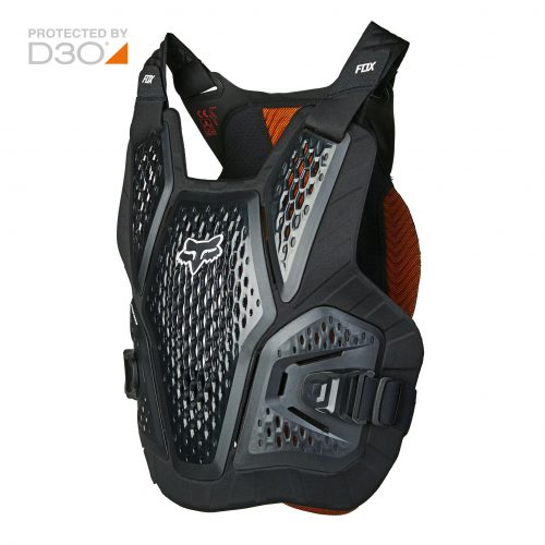Peto Protector FOX Raceframe Impact Soft D3O Negro