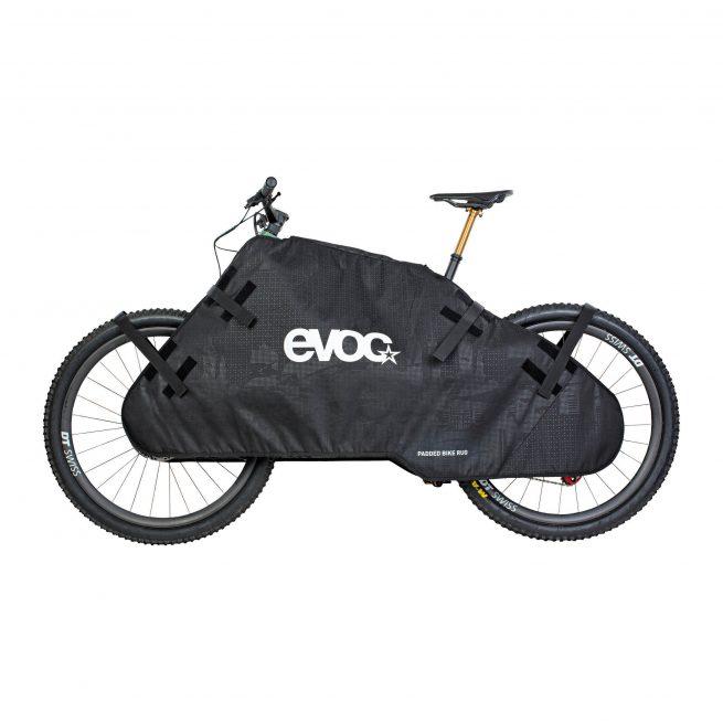 Protector transporte Evoc Padded Bike Rug Negro
