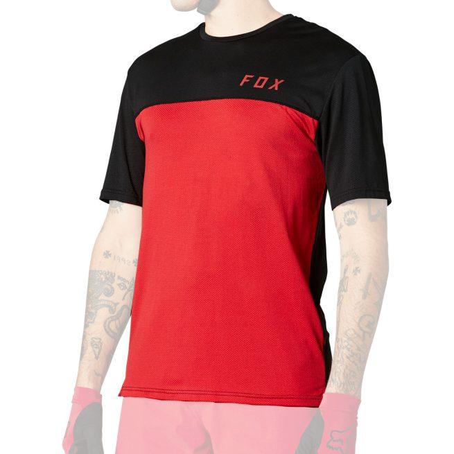 Camiseta Técnica FOX Flexair Delta SS Chili