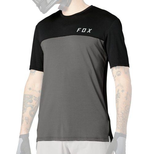 Camiseta Técnica FOX Flexair Delta SS Gris