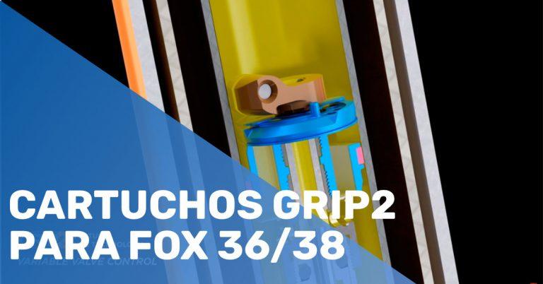 Cartuchos Grip2 para FOX 36/38