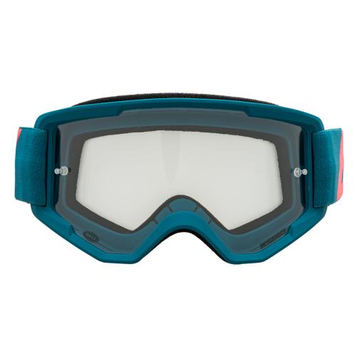 Gafa de Mascara BELL Descender Outbreak Matte Blue / Infrared 2