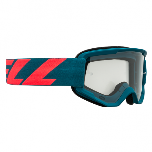 Gafa de Mascara BELL Descender Outbreak Matte Blue / Infrared