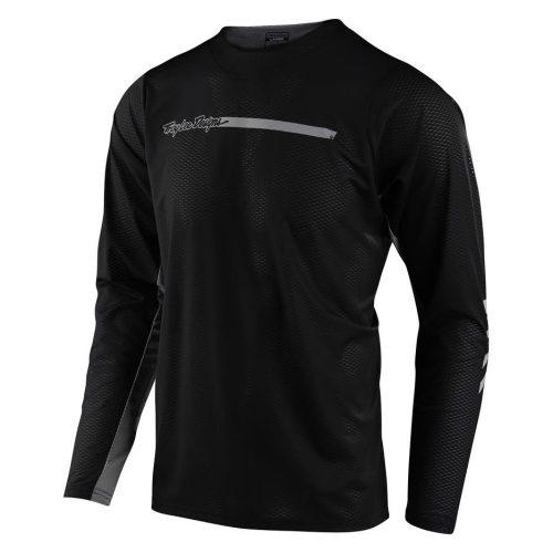Camiseta TROY LEE DESIGNS Skyline Air Channel LS Black