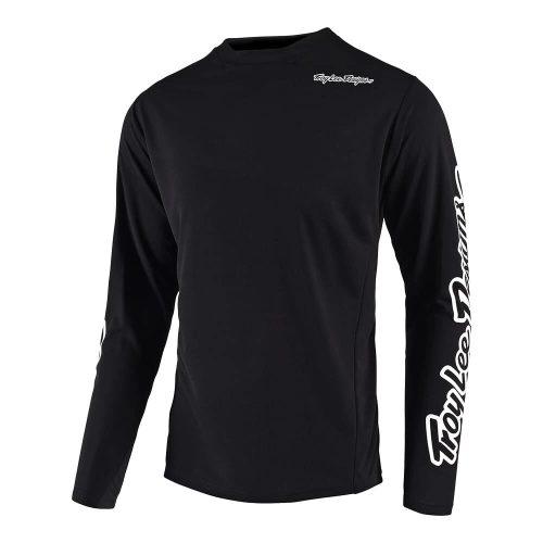 Camiseta TROY LEE DESIGNS Sprint LS Black