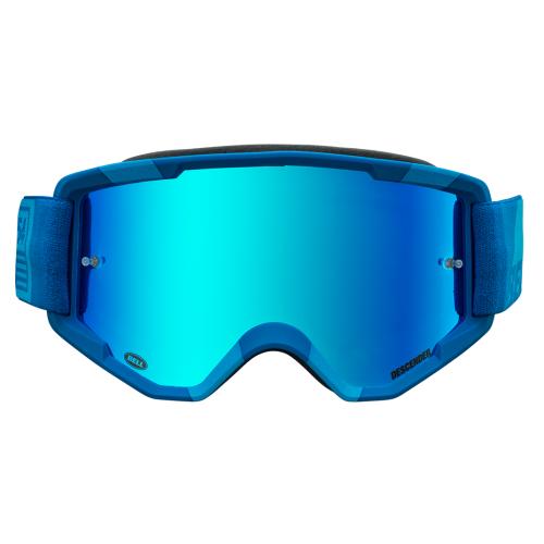 Gafas Máscara BELL Descender Crossbones Matte Light Blue Blue 2
