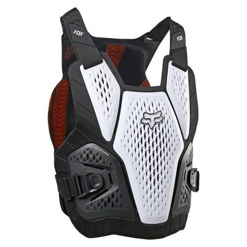 Peto Protector FOX Raceframe Impact Soft D3O Blanco 2